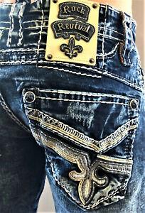 Rock Revival Jeans For Men For Sale Ebay