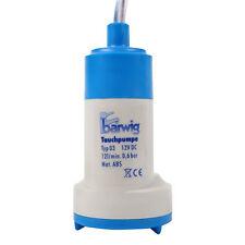 Wohnwagen Tauchpumpe 12v 0,6 bar 12 Ltr pro Minute 18-24 W Trinkwasserpumpe