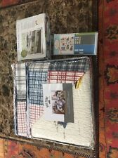 New Boy Zone Full Quilt Set With Sheet Set And Wall Decals