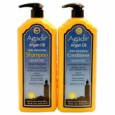 Agadir Moroccan Argan Oil Daily Volumizing Shampoo & Conditioner 1 Litre Duo