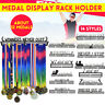 Metal Steel Medal Holder Medal Hanger Display Rack Ideal Gift for Running Sports