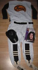 1979 The Warriors Baseball Gang Furies Pinstriped Uniform/Cosplay/Whole Costume