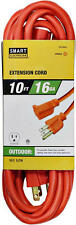 16-3 10 Foot Orange Outdoor All Weather Extension Cord