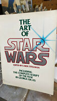 The Art Of Star Wars First Edition 1979 Ballantine Edited By Carol Titelman
