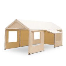 Gazebo Garage in ferro 3x6 mt tetto x box auto,catering con teli laterali 05882