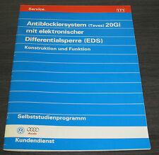 VW Audi A4 100 A6 B5 C4  ABS 20 Gi elekronische Differentialsperre EDS  SSP 171