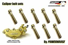 Honda VTR 1000 F Firestorm Stainless joint bolt set Nissin front brake calipers