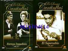 2 Dvd Entrega Inmediata & El Super Sabio New Dvd's