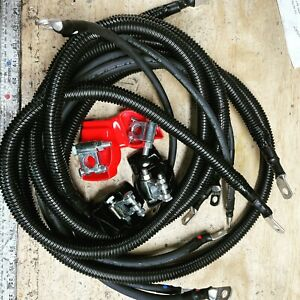 FITS 2nd Gen Dodge Ram 5.9L Battery Cable Upgrade