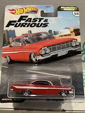 Hot Wheels Fast & Furious Motor City Muscle '61 Impala Premium