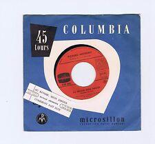 45 RPM SP JUKE BOX RICHARD ANTHONY AU REVOIR MON AMOUR (1965)
