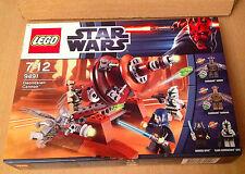 LEGO SET BOITE NEUF STAR WARS 9491 GEONOSIAN CANON AVEC JEDI BARIS OFFEE
