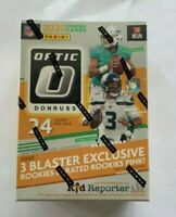 2020 NFL PANINI Donruss OPTIC Football Card Blaster Box Herbert Burrow RC Auto