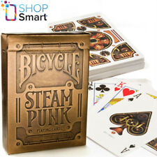 BICYCLE GOLD STEAMPUNK THEORY 11 PLAYING CARDS DECK MAGIC TRICKS NEW