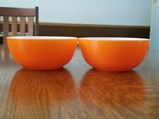 Hazel Atlas Orange Peel Bowls (2)