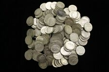 (Lot of 5) 90% Silver Roosevelt Dimes (1946-1964) - Average Circulated Condition