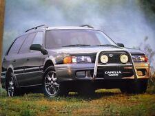 MAZDA CAPELLA CARRO BROCHURE 1995 JDM 626 SX FX Super Charger DIESEL マツダ カペラワゴン