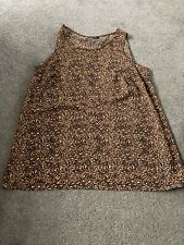 Ladies Evans Plus Size 20 Animal Print Top New Without Tags