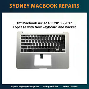 """A1466 Keyboard Topcase for Macbook Air 13"""" A1466 2013 to 2017"""