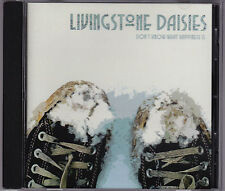 Livingstone Daisies - Don't Know What Happiness Is - CD (PB090 popboomerang)
