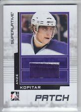 2009-10 ITG SUPERLATIVE ANZE KOPITAR PATCH /30 SILVER 2 CLR GAME USED SP32 Kings