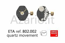 Movimento al quarzo ETA 802.002 movement quartz for watch orologi Swiss