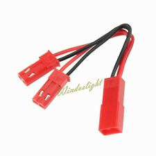 RC Battery Parallel Connection Cable Female to 2 Male JST Y plug Wire