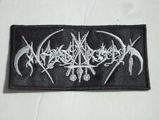 NARGAROTH BLACK METAL EMBROIDERED PATCH
