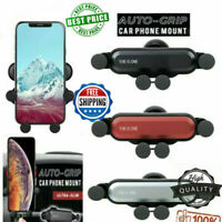 Universal Auto-Grip Car Cell Phone Holder Mount Stand Air Vent Gravity US LO