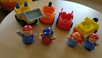 FisherPrice Little People  unquie 4x transport/ truck, 4 x figures Bundle