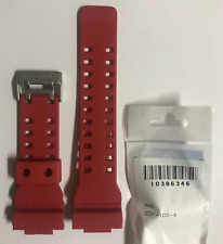 Casio Original Band GDF-100-4 GDF-100  Red Strap   GDF100