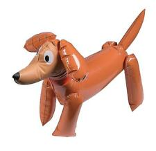 INFLATABLE SAUSAGE DOG DASCHUND PUPPY LOVER PARTY TOY - BLOW UP KIDS FUN GIFT
