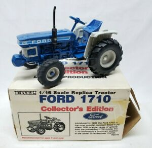 Ford 1710 Tractor Collectors Edition Limited Production By Ertl 1/16 Scale