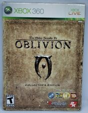 The Elder Scrolls IV Oblivion Collector's Edition Xbox 360 Complete In Box MINT