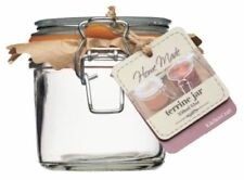 Botes y tarros de cocina de cocina de cristal