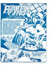 PHANTOM LADY  NO. 1 - Paragon Publications 1972 BILL BLACK