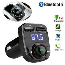 Bluetooth FM Transmitter Auto MP3 Player KFZ Dual USB SD AUX Freisprechanlage