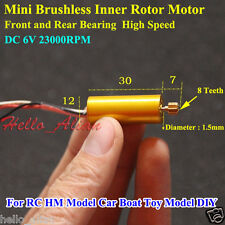 DC 6V High Speed Inner Rotor Micro Brushless Motor For DIY RC Car Boat Aircraft