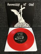 "Assembly Of God – Submission Obedience Denial 7"" BLACK VINYL Havoc Records"