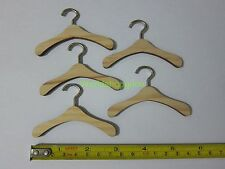 "1/6 Scale Set of 5 pcs Wooden Hanger for 12"" Action figure Toys"