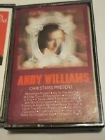 Christmas Present by Andy Williams Cassette, 1990 + Christmas Album