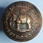 Duke of Wellingtons Regiment 25mm Button by Buttons Limited Birmingham. B002