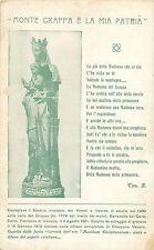 Italy Monte Grappa e la mia Patria Madonna del Grappa colle ferite di Guerra
