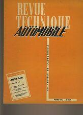 (33A) REVUE TECHNIQUE AUTOMOBILE VELAM ISETTA / TRIUMPH TR2