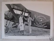 """TEXAS! TX. B&W POSTCARD """" HOUSTON AERIAL TRANSPORT"""" AIRPORT 1920's-30's UNPOSTED"""