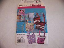 SIMPLICITY PATTERN 2779 GIRL'S BAGS Uncut Factory Fold