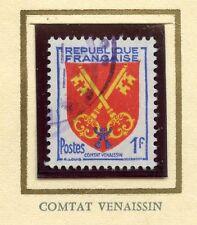 STAMP / TIMBRE FRANCE OBLITERE N° 1047 BLASON COMTAT VANAISSIN