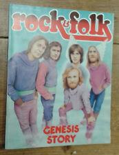 Rock & Folk, n°126 (juillet 77) Couverture: Genesis Story