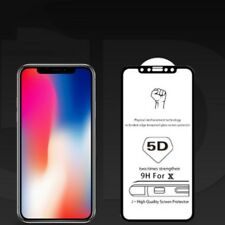 5D Coverage Tempered Glass Screen Protector For Apple iPhone X