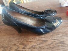 Berkonty Black Patent Shoes